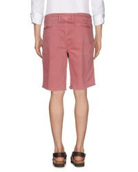 Fred Perry - Pink Bermuda for Men - Lyst