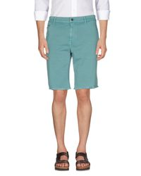 Fred Perry | Green Bermuda for Men | Lyst