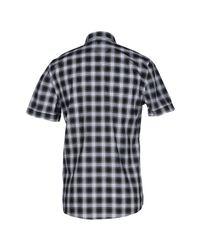 Les Hommes - Black Shirt for Men - Lyst