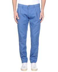 Lardini | Blue Casual Trouser for Men | Lyst