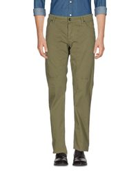 Jeckerson | Green Casual Trouser for Men | Lyst