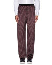 Golden Goose Deluxe Brand - Purple Casual Pants for Men - Lyst