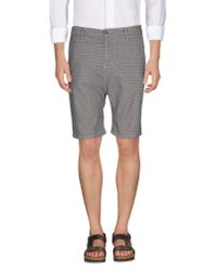 Imperial | Black Bermuda Shorts for Men | Lyst