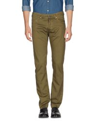 M. Grifoni Denim - Green Casual Pants for Men - Lyst