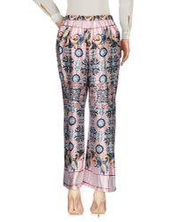 Traffic People - Pink Casual Trouser - Lyst