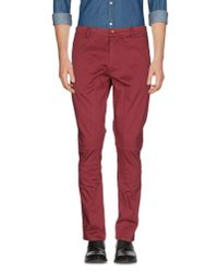 Stampd | Red Casual Pants for Men | Lyst