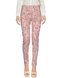 French Connection   Pink Casual Pants   Lyst