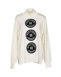 Boutique Moschino - White Turtleneck - Lyst