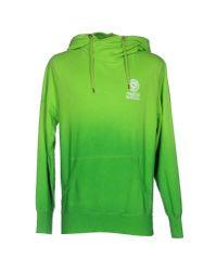 Franklin & Marshall | Green Sweatshirt for Men | Lyst