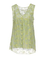 Ottod'Ame   Green Top   Lyst