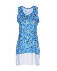 Balenciaga | Blue Short Dress | Lyst