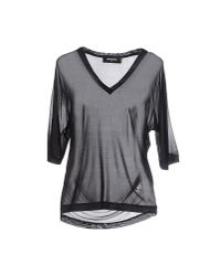 DSquared² - Black T-shirt - Lyst