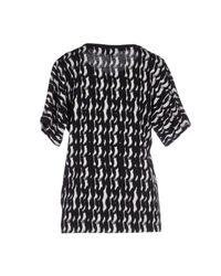 Le Mont St Michel - Black T-shirt - Lyst