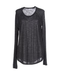 Vince | Gray T-shirt | Lyst
