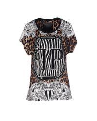 Philipp Plein | Black T-shirt | Lyst