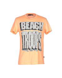 Love Moschino - Yellow T-shirt for Men - Lyst