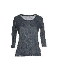 Issey Miyake Cauliflower - Gray T-shirt - Lyst