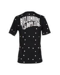Billionaire Boys Club - Ice Cream - Black Polka Dot Printed Cotton T-shirt for Men - Lyst