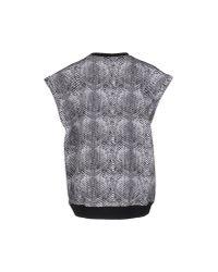 Adidas Originals - Gray Sweatshirt - Lyst