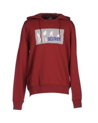 Love Moschino - Red Sweatshirt for Men - Lyst