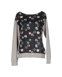 CafeNoir - Black Sweatshirt - Lyst