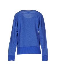 Armani Jeans - Blue Sweatshirt - Lyst