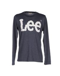Lee Jeans - Brown T-shirt for Men - Lyst