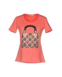 Ean 13 - Pink T-shirt - Lyst
