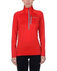 Patagonia | Red Sweatshirt | Lyst