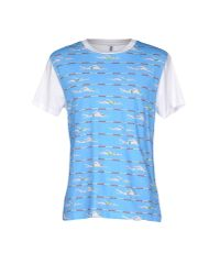 Moschino - Blue T-shirt for Men - Lyst