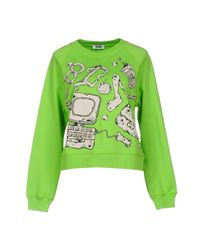 Boutique Moschino - Green Sweatshirt - Lyst