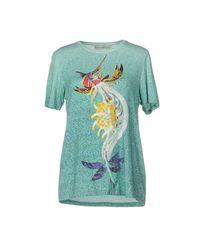 Mary Katrantzou - Green T-shirt - Lyst