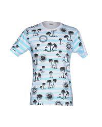 KENZO - Blue T-shirt for Men - Lyst