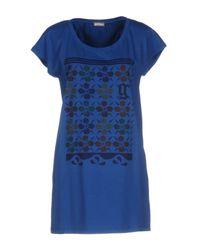 John Galliano | Blue T-shirt | Lyst
