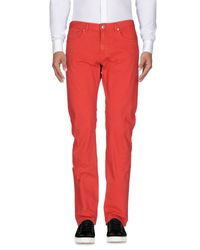 Moschino   Red Casual Trouser for Men   Lyst