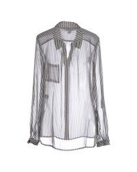 Diane von Furstenberg - White Shirt - Lyst