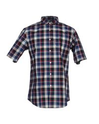 Dockers - Blue Shirt for Men - Lyst
