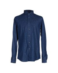 Hamptons | Blue Denim Shirt for Men | Lyst