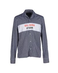 DSquared² | Blue Shirt for Men | Lyst