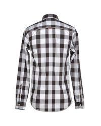 Hilfiger Denim - Gray Shirt for Men - Lyst