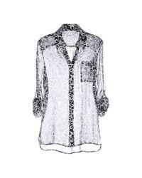 Diane von Furstenberg | Black Shirt | Lyst