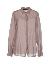 Cavalleria Toscana | Gray Shirt | Lyst