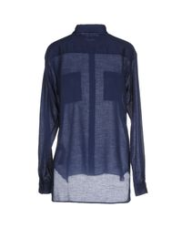 Aglini - Blue Shirt - Lyst