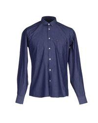Billtornade | Blue Shirt for Men | Lyst
