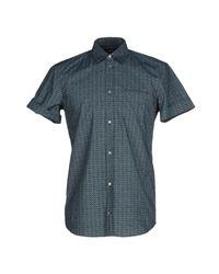 CoSTUME NATIONAL | Blue Shirt for Men | Lyst