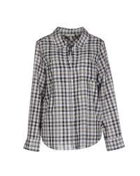 Joie | Gray Shirt | Lyst