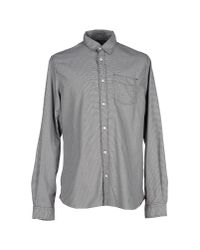 Woolrich - Gray Trout Run Flannel Shirt for Men - Lyst
