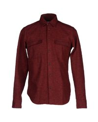Mauro Grifoni   Red Shirt for Men   Lyst
