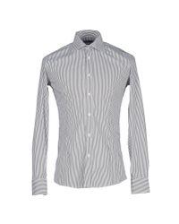 Grey Daniele Alessandrini - Gray Shirt for Men - Lyst