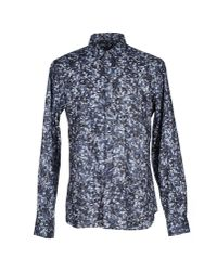 Paul Smith | Blue Western Style Shirt for Men | Lyst